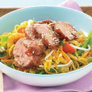 Char Siu Pork Chow Mien