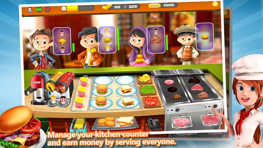 android Rapide Tycoon Street Food Screenshot 0