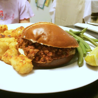 Homemade Turkey Sloppy Joes.