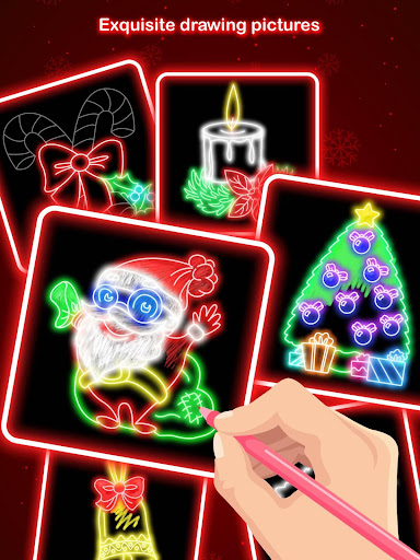 Draw Glow Christmas 2020 screenshots 9