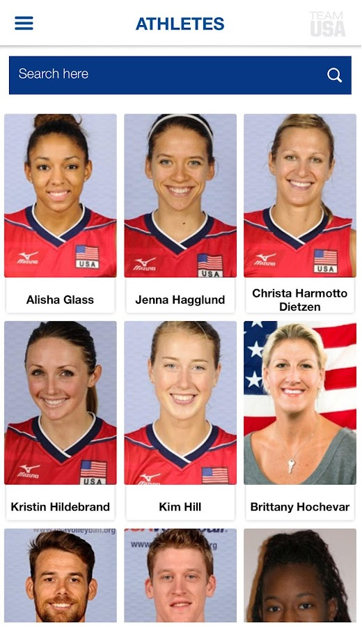 USA Volleyball- screenshot