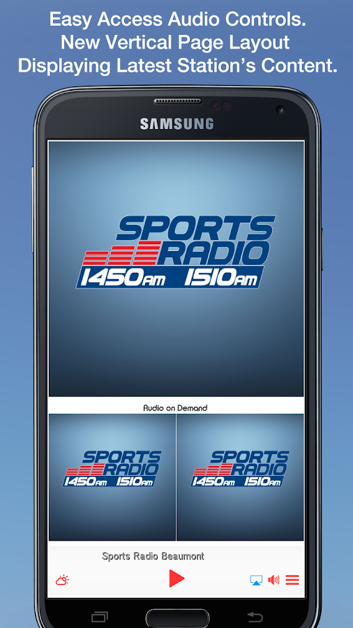 Sports Radio Beaumont- screenshot