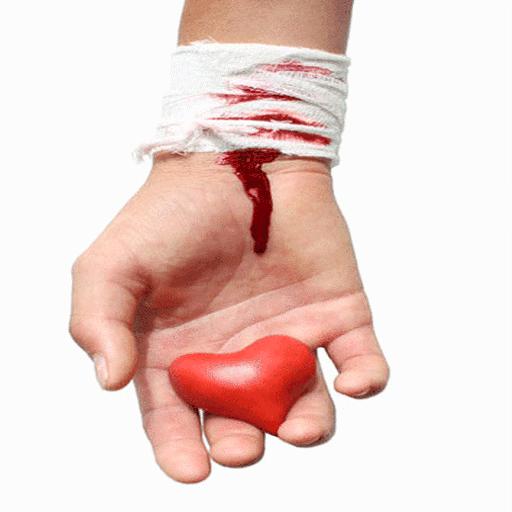 Heart Broken Live Wallpaper