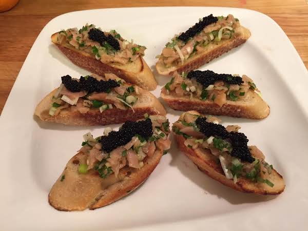 Smoked Salmon Bruschetta Recipe