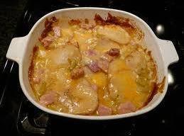 Thelma's Scalloped Potatoes & Ham Recipe