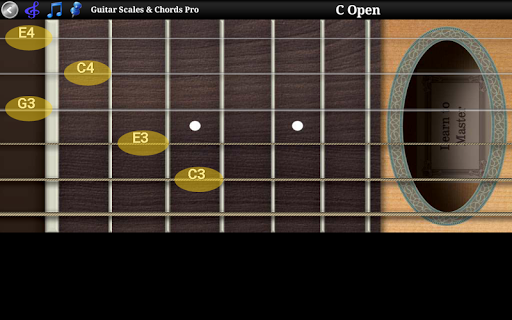 Guitar Scales & Chords Free Added Sustain option screenshots 11