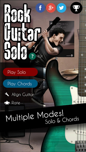 Rock Guitar Solo (Real Guitar) 1.0 screenshots 1