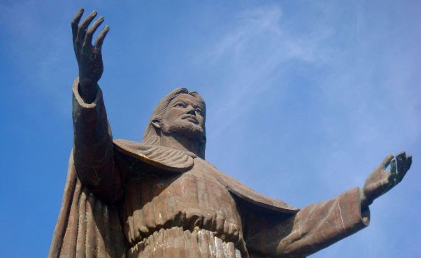 Estátua do Cristo Rei em Dili