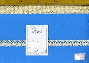 Photo: №2170-1-108綿100%:トーションキナリ:巾18mm