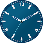 Watch Face Blue Dark