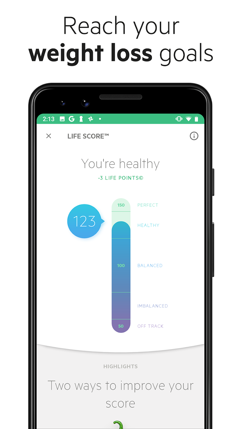 Lifesum - Diet Plan, Macro Calculator & Food Diary Screenshot 3