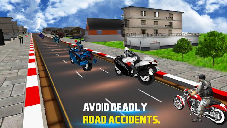 Traffic Attack Rider :3D Stunt- screenshot thumbnail