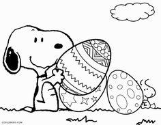 Snoopy valentine coloring page