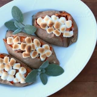Twice-Stuffed Sweet Potatoes