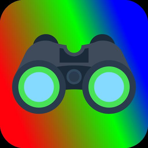 Color Night Vision Camera VR Icon