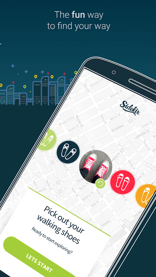 Sidekix Sightseeing, Navigation, Itinerary, Maps- screenshot