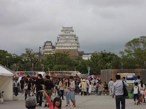 Photo: 姫路城。真っ白い。