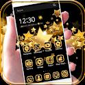 Golden star Gold Theme icon