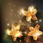 Glow Flowers Live Wallpapers Icon