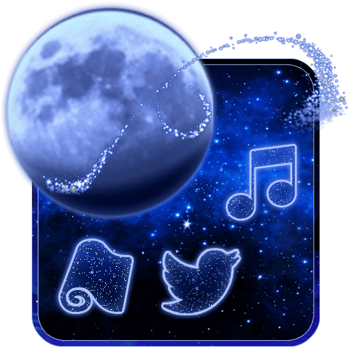 Glitter Night Launcher