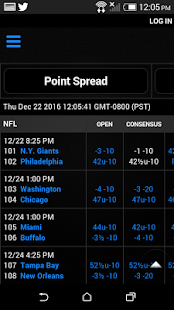 Sports Lines and Odds- screenshot thumbnail