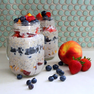 Layered Overnight Oats with Fruits