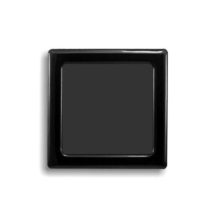 DEMCiflex magnetisk filter 60mm, firkantet, sort
