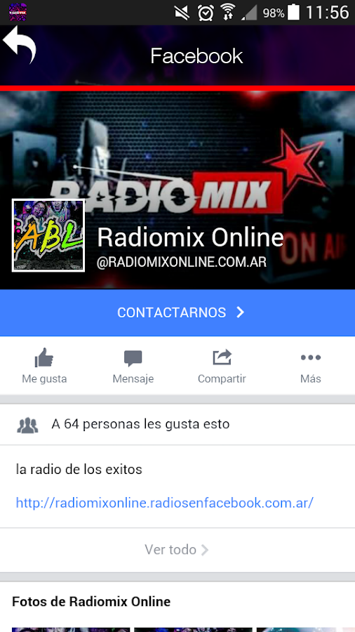 RADIO MIX ONLINE- screenshot