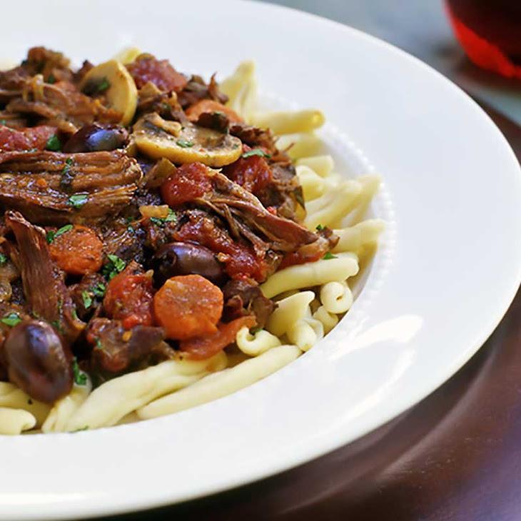 Provençal Beef Stew   Daube Recipe