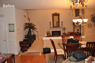Photo: (Before) Breakfast room Toll Brothers home Northampton, PA