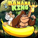 Banana king icon