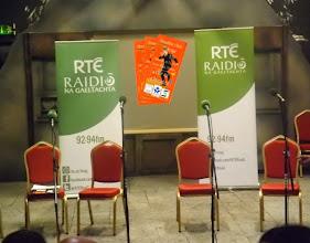 Photo: Stáitse réidh don gCoirm Cheoil deiridh!