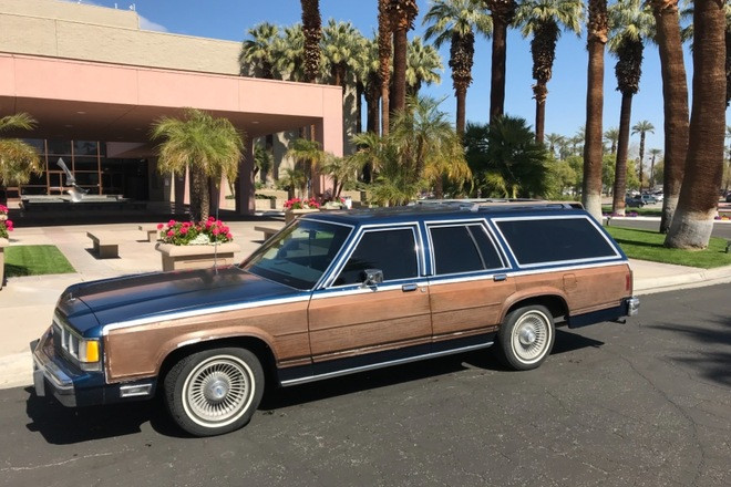 1991 Ford crown Victoria country squire lx Hire Palm Springs