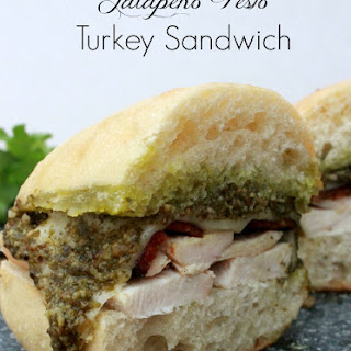 Jalapeño Pesto Turkey Sandwich