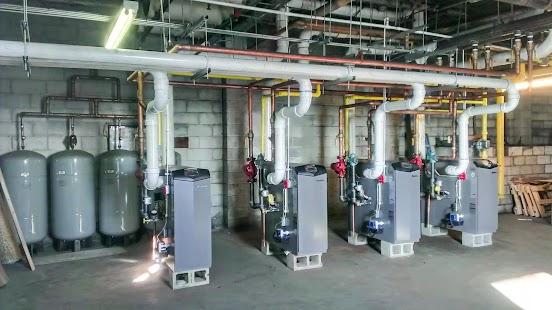 газовые крышные котельные для многоквартирных домов