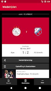 Official AFC Ajax Soccer App - náhled