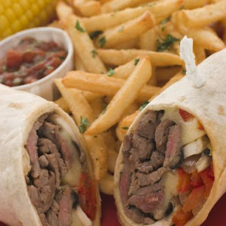 Warm Steak Wraps
