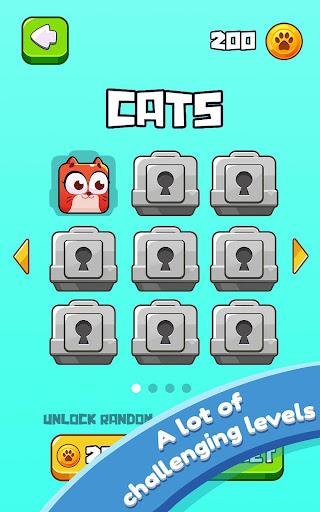 Cat Jumping: Kitten Up, Square Cat Run, Kitten Run 1.2.37 screenshots 16