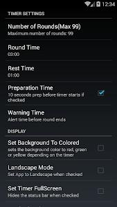 Boxing Interval Timer FREE screenshot 2