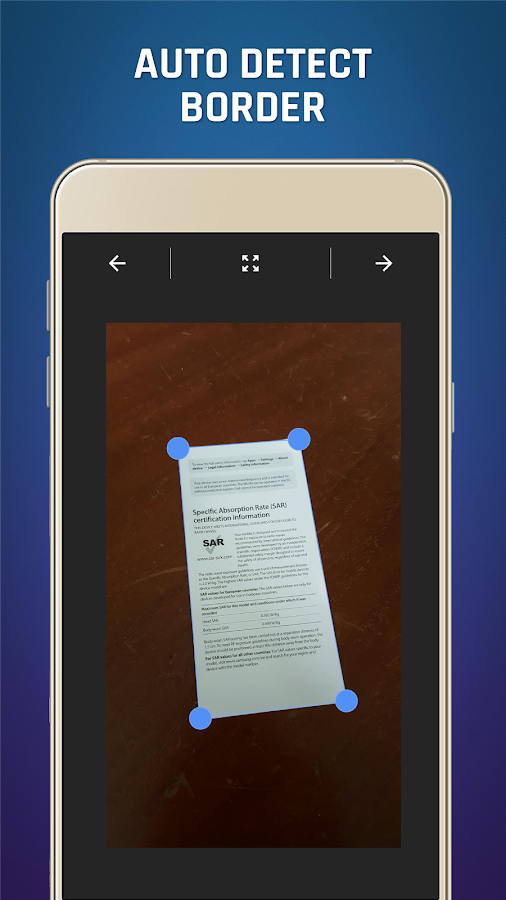 Easy Scanner - Camera to PDF- screenshot