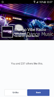 Mango Vibe Radio- screenshot thumbnail