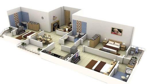 3DHome Floor Plan Design Ideas