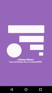 cAnny News - Smart way of News - náhled