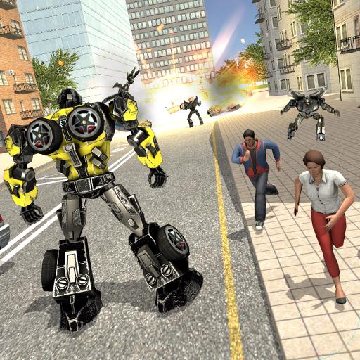 Iron Bot: Futuristic Fight