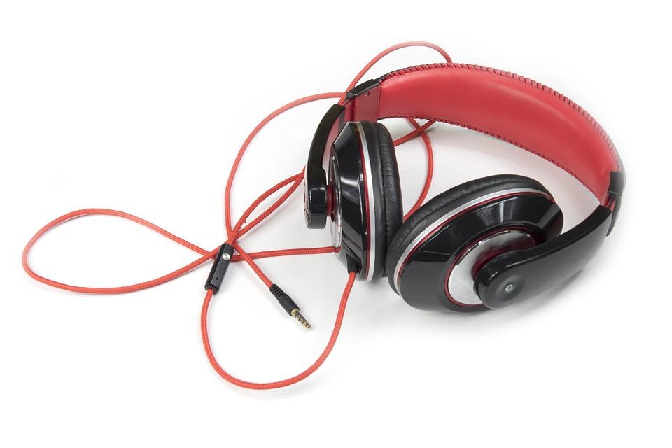 hörlurar musik lyssnar ...