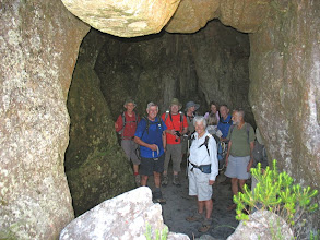 Photo: In the Grotto cavern