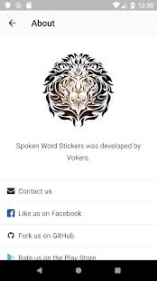 Spoken Word Stickers