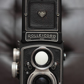 Rolleicord by Jason Arand - Artistic Objects Other Objects ( rolleicord, vintage, camera, antique, medium format camera, black )