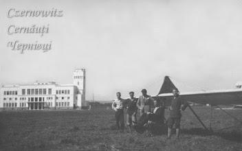 Photo: Аеропорт (збудований в 1933 році). Фото 1942 року.