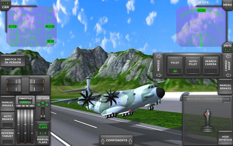 Turboprop Flight Simulator 3D Screenshot 9